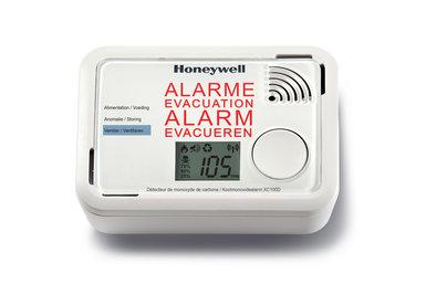 De Honeywell XC100D in alarm stand