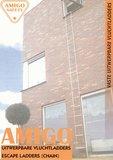 Amigo Safety vluchtladder buiten gevel