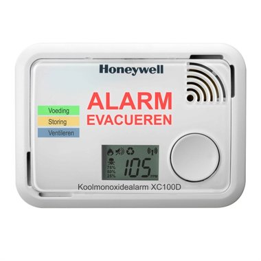 Honeywell XC100D met Display - Meet Lage CO Waardes